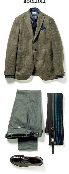Blazer Fashion, Mens Fashion Suits, Mens Suits, Fashion Outfits, Tweed Jackets, Ivy Style, Men Style Tips, Fashion Essentials, Smart Casual