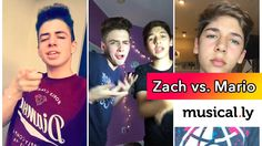 BruhItsZach vs. Mario Selman | The Best Musical.ly Compilations Duels