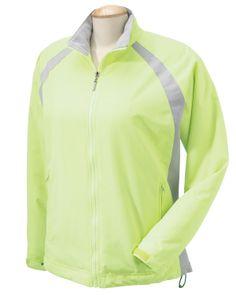 Colorblock Nylon Jacket - SAVE UPTO 11% on ladies capstone colorblock jacket at Gotapparel.com.