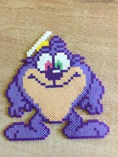 Dizzy Devil perler bead by Amanda Collison