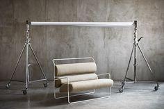 The Sancarlo, by design maestro Achille Castiglioni (Tacchini). Outside Furniture, Home Furniture, Furniture Design, Divani Design, Sofa Design, Interior Design, High Back Armchair, Types Of Furniture, Contemporary Sofa