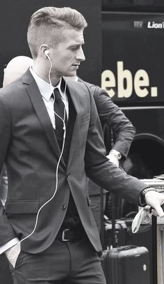 There's nothing better than an attractive man in a well-tailored suit.