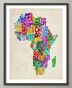 very cool map of africa!