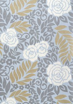 YVETTE, Light Blue, T4926, Collection Jubilee from Thibaut