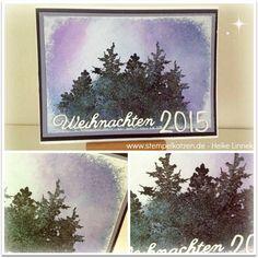 3-d Stempelfarbe und Stempel von #Indigoblu #stempellädle #christmas #diy #card