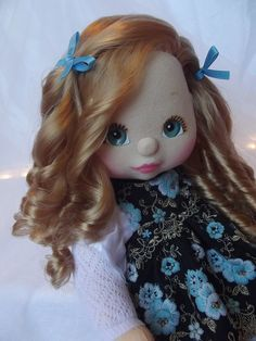 Mattel My Child Doll strawberry blonde sidepart ringlet My Child Doll, Strawberry Blonde, My Children, My Childhood, 90s Stuff, Dolls, Disney Princess, Disney Characters, Memories