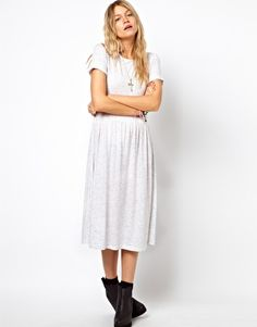 ASOS Midi Smock Dress in Nepi. Is white too dirty for the Philippines?