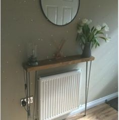 Narrow console table with hairpin legs, wooden rustic hallway table - Oh Yulli Rustic Hallway Table, Entryway Tables, Rustic Table, Victorian Hallway, Narrow Console Table, Hairpin Legs, Hair Pins, Improve Yourself, Diy