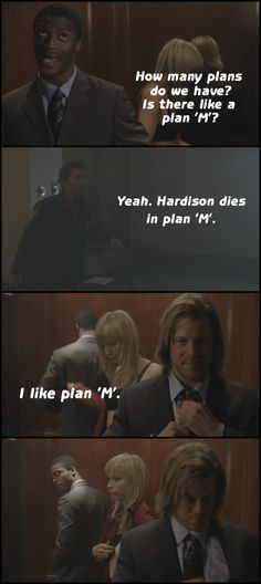 Poor Hardison! One of the many things I miss about Leverage!