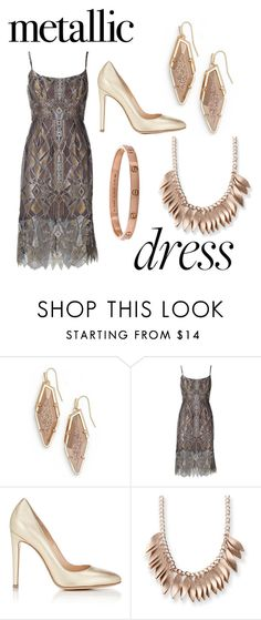 """""""Gala party"""" by livia-souza-1 ❤ liked on Polyvore featuring Kendra Scott, BCBGMAXAZRIA, Gianvito Rossi and Kim Rogers"""