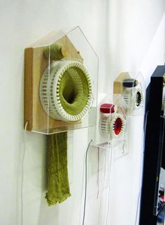Cool stuff - A clock that knits a scarf in the course of a year - it knits a single stitch every thirty minutes.