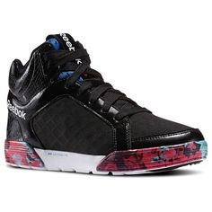 Patent black High top Sneakers. Oh, baby. Reebok - Dance Urtempo Mid 2.0