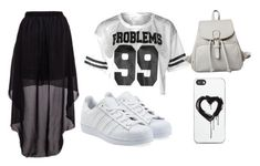 """""""Untitled #17"""" by crookedsmile10 ❤ liked on Polyvore featuring moda, adidas Originals y Zero Gravity"""