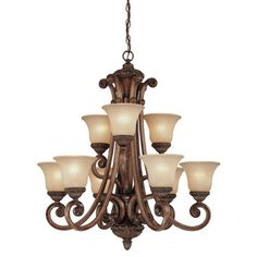 FREE SHIPPING! Shop Wayfair for Dolan Designs Carlyle 9 Light Chandelier - Great Deals on all Decor products with the best selection to choose from!