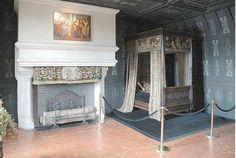 la Chambre austère du Duc de Guise, chef de la Ligue, Chenonceau