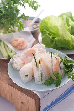 Spoonful: Soaking up the last of the summer produce: Vietnamese summer rolls