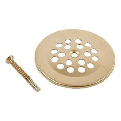 Delta Replacement Dome Grid Shower Drain Finish: