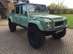 1999 Land Rover Defender 130 TD5 Double Cab
