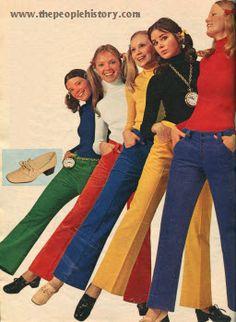 Corduroy Jeans 1971