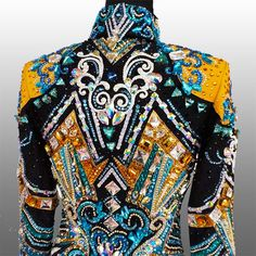 """""""Another Day in Paradise"""" Showmanship Jacket, custom made for Erica Day…"""