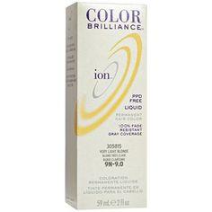 5rv Light Burgundy Brown Permanent Creme Hair Color Ion