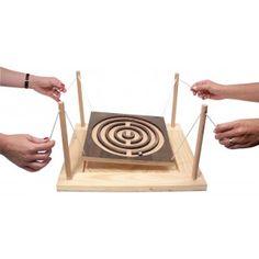 Labyrinthe géant en bois à 4 mains                                                                                                                                                      Mehr
