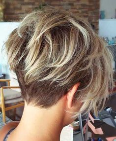 Image result for women's undercut layered bob