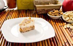 Raw Caramel Apple Cheezecake
