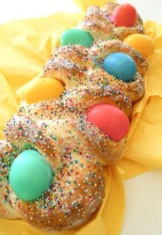Italian Easter Bread - my Nona and I made this every Easter!