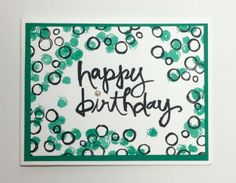 Playful Backgrounds & Watercolor Words by Stampin' Up!