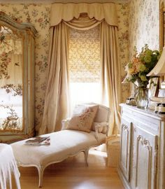Super Genius Cool Tips: Vintage Home Decor Diy Annie Sloan french vintage home decor bath.Vintage Home Decor Inspiration Window french vintage home decor fixer upper.Vintage Home Decor Dinette Sets. French Decor, French Country Decorating, Bedroom Vintage, Vintage Home Decor, Shabby Vintage, Vintage Curtains, French Country Bedrooms, Chaise Lounges, Beautiful Bedrooms