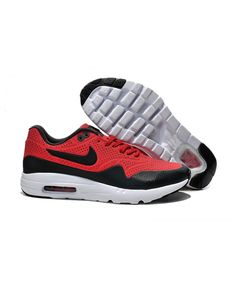 huge selection of 087a4 c17a8 Homme Nike Air Max 1 Ultra Moire Rouge Noir Chaussures