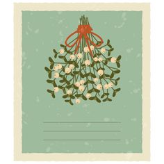 How to Create a Vintage Card With Mistletoe in Adobe Illustrator