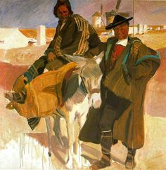 Tipos de la Mancha. 1912 Joaquín Sorolla Bastida