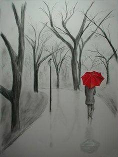 Rainy Day- Pencil Art
