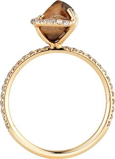 pretty raw diamond ring.