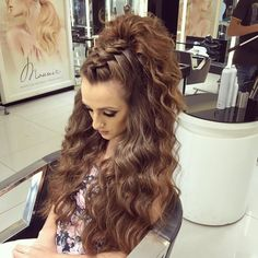 "1,417 Likes, 13 Comments - Helan Dlol (@helandlol) on Instagram: ""Hair by @helandlol @mouniiiir #erbil #iraq #hair #hairstyle #instahair #TagsForLikes #hairstyles…"""