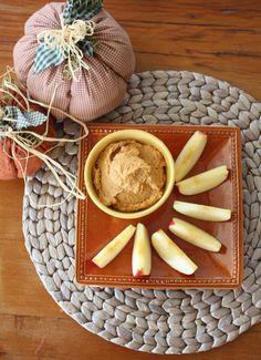 Cómo hacer rápido un rico y nutritivo Hummus dulce con Calabaza.