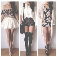 Love these outfits. Which one is your fav? Comment down below :)