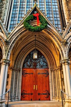 First Presbyterian Church, Pittsburgh - one of the churches Bronwyn would visit at Christmas in the city.
