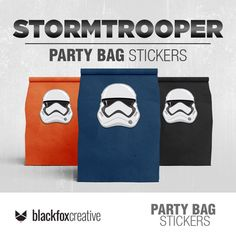 Star Wars Birthday, Star Wars Party, Star Wars Decor, Loot Bags, Party In A Box, Printing Labels, Party Bags, My Etsy Shop, Stickers