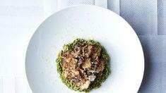 Farro with Roasted Mushrooms Recipe | Bon Appetit