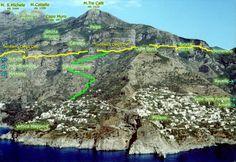 The path of Gods. Sentiero degli Dei. Thanx to Amy C for inspiration