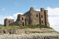 Piel Castle also known as Fouldrey Castle, Cumbria, England