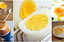 Veja os minutos exatos que você precisa cozinhar o ovo para 5 pontos diferentes