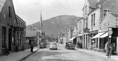 Old Photograph Ballater, Scotland.