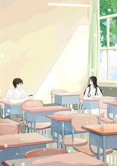 Pin by jann 💗 on anime couples in 2019 menggambar rambut, ga Cute Couple Art, Anime Love Couple, Cute Anime Couples, Couple Sketch, Couple Drawings, Couple Illustration, Illustration Art, Cover Wattpad, Anime Art Girl