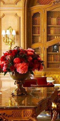 """""""fresh flowers bring such ambiance & can instantly enhance the mood of a living space"""", Carolyn Williams, Antiques & Interiors"""