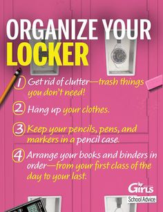 diy locker tips and tricks