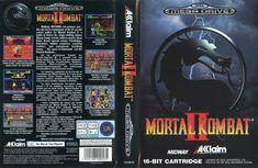 £3.49 GBP - Mortal Kombat Ii 2 Sega Mega Drive Pal Eu Replacement Box Art Case Insert Cover #ebay #Electronics